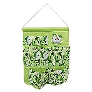 sourcingmap® Fruits Vert tissu Home Gadget Sac à accrocher