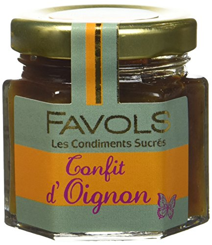 FAVOLS Confit Oignon 50 g - Lot de 10