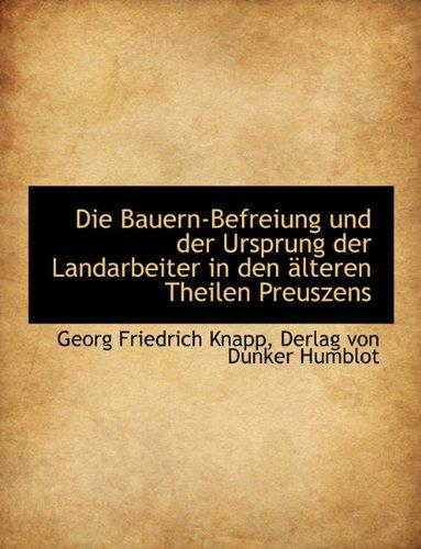 Bauern-Befreiung Und Der Ursprung Der Landarbeiter in Den Lt -