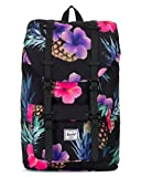 Herschel Little America Mid-Volume Black Pineapple/Black Rubber