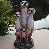 Dekofigur Erdmännchen-Familie