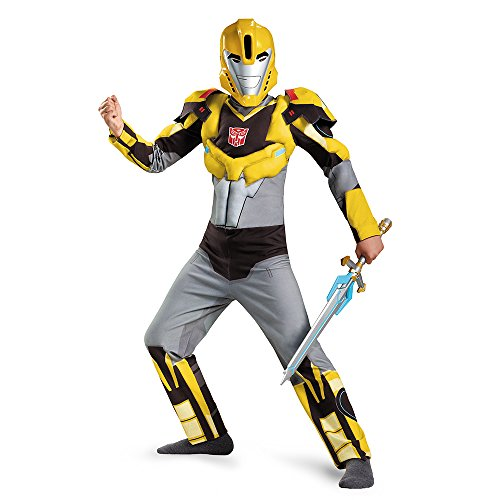 Bumblebee Animated Muscle Child Costume Large