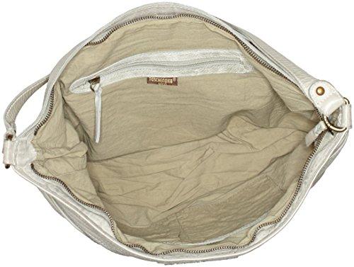 Taschendieb - Td0889, Borsa a spalla Donna beige (Offwhite)