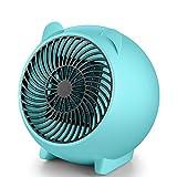 L&Z 110W Heizlüfter, Mini Heizlüfter Keramik Energiesparend Elektroheizer, 3s Schnellheitzer Abschaltautomatik Überhitzungschutz für Babyzimmer Hause Büro