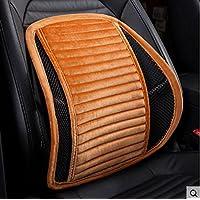 Sede di copertura auto cuscino del sedile, stuoie invernali auto, cuscino, cuscini, cuscini di seduta, pad caldo, Affari Sedile ( colore : Arancia )
