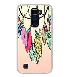 Fuson Mandela Tribal Art Designer Back Case Cover for LG K10 :: LG K10 Dual SIM :: LG K10 K420N K430DS K430DSF K430DSY (Ethnic Pattern Patterns Floral Decorative Abstact Love Lovely Beauty)