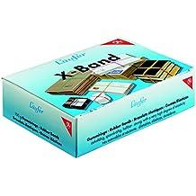 Läufer 59102 Rondella X-Band, elastische Kreuzbänder, Gummibänder 150 x 11 mm, Durchmesser 100 mm, 100g Schachtel, bunt