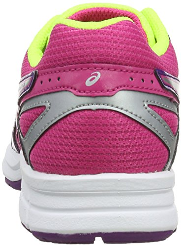 ASICS Gel-Galaxy 8 GS, Chaussures Multisport Outdoor Mixte enfant Rose (Hot Pink/Silver/Purple 2093)