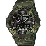 Casio Herren Analog Quarz Uhr mit Harz Armband GA-700CM-3AER