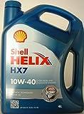 Shell Helix HX7 10w-40 Lubrificante semisintetico per motori benzina tanica da 4 Litri