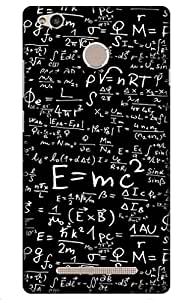 iessential science Designer Printed Back Case Cover for Redmi 3S