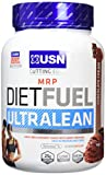 USN Diet Fuel Ultralean Weight Control Meal Replacement Shake Powder, Chocolate Cream