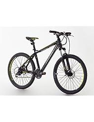 Mountain Bike, Greenway marque, cadre et fourche en alliage, suspension avant, Taille 66cm