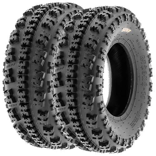 SunF 21x7-10 21x7x10 ATV Quad Reifen Tyres A027 6 PR, [Paar von 2]