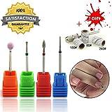 TP Carbide Nagel Bohrmaschine Nagelhaut Stein Bit Set Elektrische Rotary Grate Maniküre Pediküre Salon Zubehör