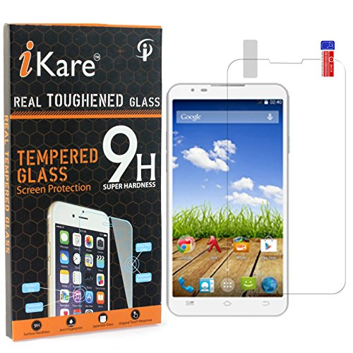 Micromax Canvas XL2 A109 Tempered Glass, iKare 2.5D 9H Tempered Screen Protector for Micromax Canvas XL2 A109
