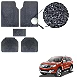 #8: Vheelocityin Noodle Style 3M Nomad Style Ford Endeavour New Grass Car Mat/Black Car Floor Mat Foot Mat for Ford Endeavour New