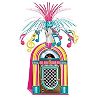 A Beistle Creation 50s Rock n Roll Jukebox Table Centrepiece
