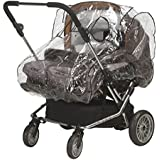 Playshoes Baby Travel Universal Pushchair Stroller Pram Tandem Duo Twin Rain Cover