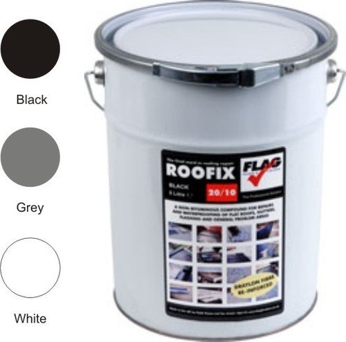 roofix-20-10-multisurface-roof-gutter-repair-5-litre-black-grey-or-white-grey