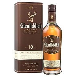 Glenfiddich Single Malt Scotch Whisky 18 Jahre - kleine Spezial-Auflage des meistverkauften Malt Scotch Whisky der Welt mit Geschenkverpackung, 1 x 0,7l, 40% Vol.