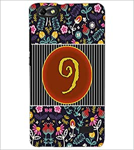 PrintDhaba Numerology Number 9 D-3096 Back Case Cover for HUAWEI HONOR 4C (Multi-Coloured)