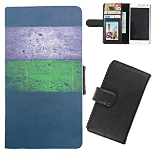 DooDa - For Samsung Galaxy fame PU Leather Designer Fashionable Fancy Flip Case Cover Pouch With Card, ID & Cash Slots And Smooth Inner Velvet With Strong Magnetic Lock