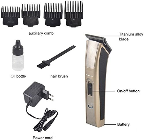 Nucleair Maxel-3017 Professional Hair & Beard Trimmer  available at amazon for Rs.690