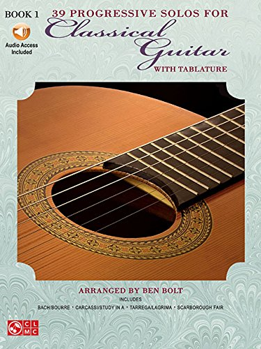 39 Progressive Solos for Classical Guitar: Book 1 (Thirty-Nine Progressive Solos for Classical Guitar)