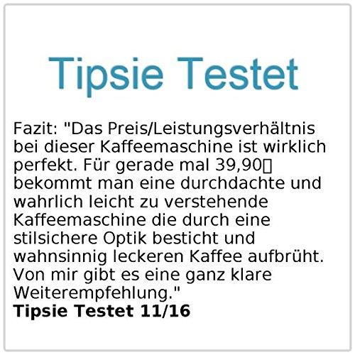 Rosenstein & Söhne Programmierbare Kaffeemaschine KF-316, 1.000 W - 6