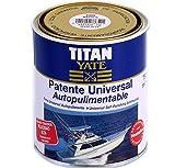 TITAN - Patente autopulimentable velocidad alta semi-mate azul intenso 2,5l