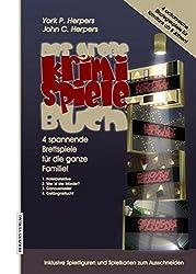 Das Große Krimi Spiele Buch: 4 rasante Brettspiele für die ganze Familie