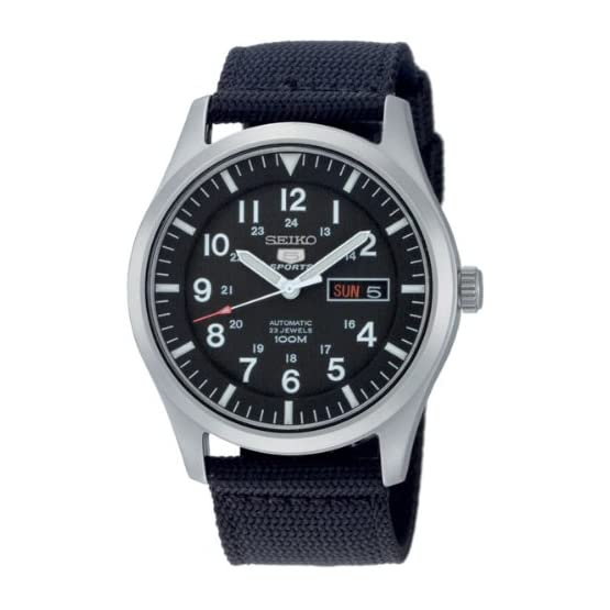 Seiko 5 Sports Automatic SNZG15K1 Montre Homme