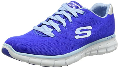 Skechers - Synergy-Moonlight Madness, Sneakers da donna, blu (bllb), 38