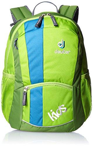 Deuter Unisex - Kinder Rucksack Kids, green, 36 x 22 x 18 cm, 12 Liter, 3601320080