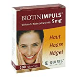 Biotin Impuls 5 mg Tabletten 100 stk