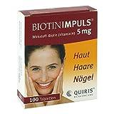 Biotin Impuls 5 mg Tabletten 100 stk