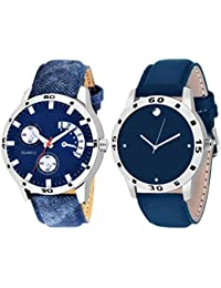 Scarter Combo Of 2 Analog Watch For Boys And Mens- S-206-210