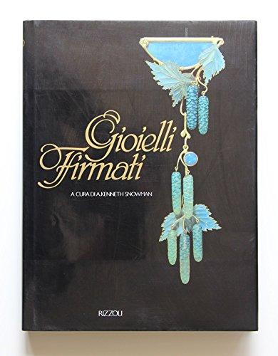 Gioielli firmati : Lalique - Vever - Fouquet - Tiffany - Cartier - Van Cleef & Arpels - Verdura - Bulgari - anno 1991