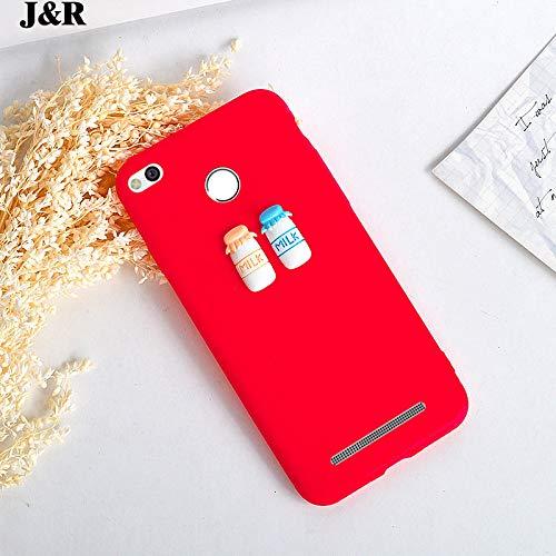 Guomvp Hülle Für Xiaomi Redmi 3 S Pro 3s 3 X Silikonhülle Für Xiomi Redmi Note 3 4 4X 4A 5 5A Plus Pro Handytasche Süße Milchkaffeeschale Für redmi Note 4 3 - Frauen Für Iphone 4 Fall Niedlich
