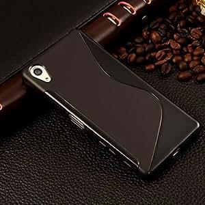 Intex Aqua Y2 Pro Magic Brand S-Line Black Soft Silicon Back Cover Case