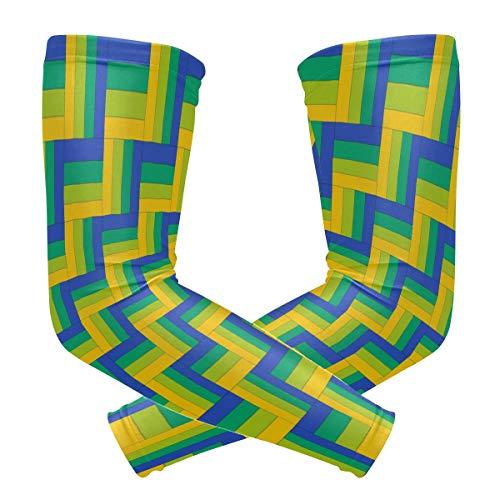 Montoj 4-Streifen Schiene Zaun-Sonnenschutz Hülle für den Arm (Tripp Streifen)