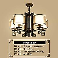 JJGG Le camere da letto lampadari soggiorno ,5 lampade studio