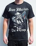 rgm852-Iron Maiden The Trooper-Camiseta tamaño: MEDIO