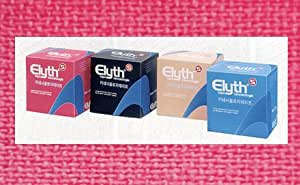 ELYTH Kinesiologischen Tape 5cmx5m rot Tapeverband 1 St Bandage