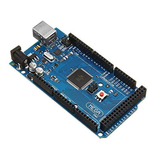 Webla Passendes Motherboard für MEGA 2560 R3 ATMEGA16U2 ATMEGA2560-16AU + kostenloses USB-Kabel, Kunststoff -