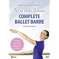 Complete Ballet Barre 3 DVD Disc Set - Tips On Ballet Technique - Improve Your Ballet Technique With Kimberley Berkin - For Ages 8 To Adult, Beginner To Advanced
