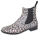 Bockstiegel Damen PVC-Stiefelette Rebecca, Farbe:leopard;Größe:40