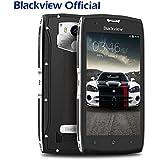 Blackview BV7000 Móviles libres - Android 7.0 Smartphones libres 4G Dual SIM IP68 Movil Resistente (NFC, Quad Core, 2GB RAM, 16GB ROM, Cámara 8MP/5MP, 5.0 pulgadas FHD, 3500mAh) - plateado