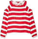 Garcia Kids Mädchen Bluse M82431, Rosa (Raspberry Red 2452), 140 (Herstellergröße: 140/146)